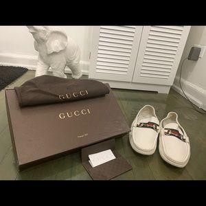 Gucci Men Loafers (White)
